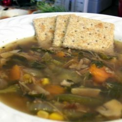 Easy Chicken and Veggie Soup recipe