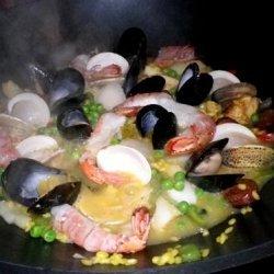 Sarasota's Spanish Paella recipe