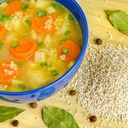 Hearty Vegetable Barley Soup recipe