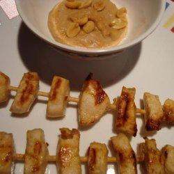 Thai Chicken Appetizer Skewers recipe