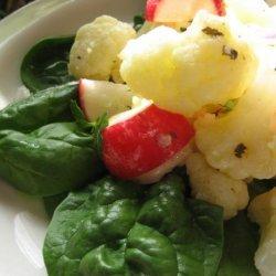 Chilled Cauliflower a La Grecque recipe