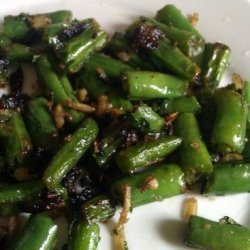 Fried Green Beans With Coconut recipe