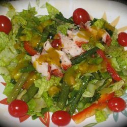 Lobster Salad With Curried Mango Dressing recipe