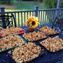 Wormy Caramel Corn for Halloween recipe