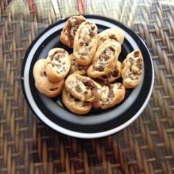Sausage and Cream Cheese Pinwheels recipe