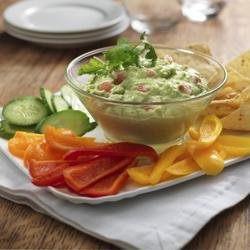 Smooth Guacamole Dip recipe