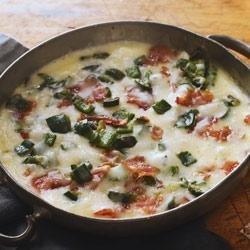 Bacon and Chile Queso Fundido recipe