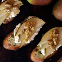 Pear and Date Hors d'Oeuvre recipe