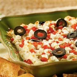 Layered Hot Artichoke and Feta Dip from ATHENOS recipe