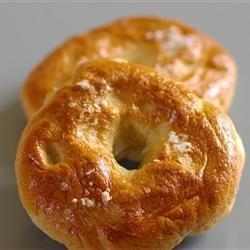 Bread Machine Bagels recipe