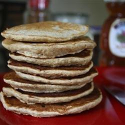 Whole Wheat, Oatmeal, and Banana Pancakes recipe