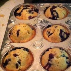 Blueberry Muffins II recipe