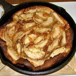 German Apple Pancake recipe