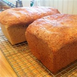 Honey Wheat Bread II recipe