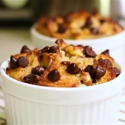 Chocolate Banana Bread Pudding recipe