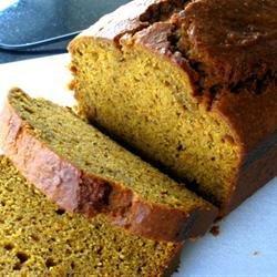 Super Moist Pumpkin Bread recipe