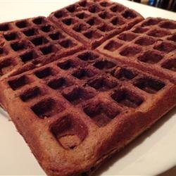 Chocolate Waffles I recipe