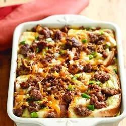 Sausage and Apple Breakfast Casserole recipe