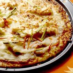 Gourmet Thai Chicken Pizza recipe
