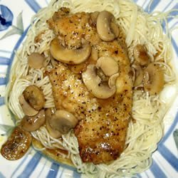 Mozzarella Chicken Marsala recipe