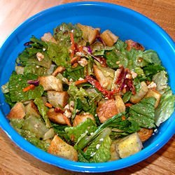Sun-Dried Tomato, Feta and Pine Nut Salad recipe