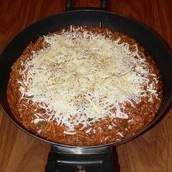 Spaghetti Skillet Dinner recipe