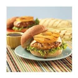 Teriyaki Pineapple Turkey Burgers recipe