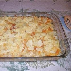 Potato Chip Casserole recipe