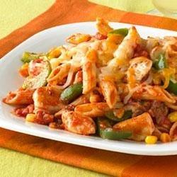 Cheesy Chicken and Salsa Skillet recipe