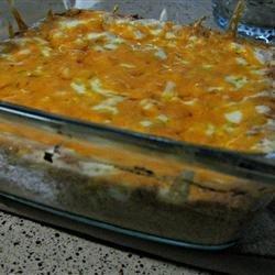 Hot Mexican Bean Dip recipe
