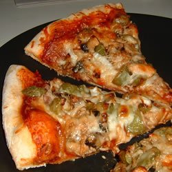 Jerk Chicken Pizza recipe