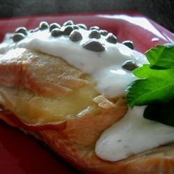 Glenn's Blowing Rock Salmon recipe