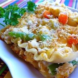 Tuna Lasagna Casserole recipe