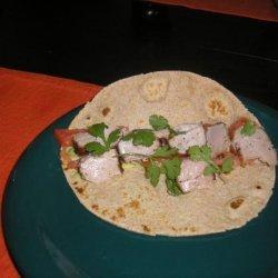 Fresh Tuna Tortillas recipe