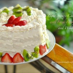 Fresh Fruit Cake recipe