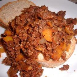 Sherri's Sweet 'n Spicy Sloppy Joes recipe