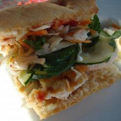 Banh Mi-Style Chicken Sandwich recipe