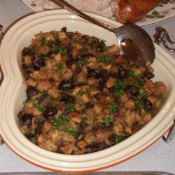 Chestnut, Onion, Currant Stuffing recipe