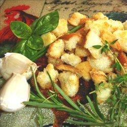 Rachael Ray -  Sourdough Croutons recipe