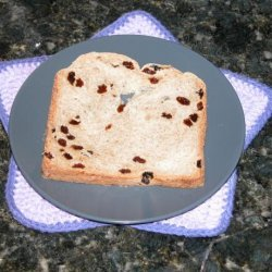 Raisin Bread - Bread Machine recipe