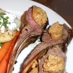 Rack of Lamb with Toasted Hazelnut Butter recipe