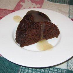 Persimmon Steamed English Pudding recipe