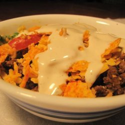 The Best Taco Salad Ever recipe