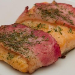Trout Wrapped in Bacon recipe