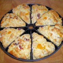 Orange  Breakfast Scones recipe