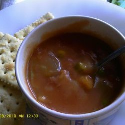 Quick and Easy Ham-Vegetable Chowder recipe