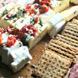 Tangy Marinated Cheese recipe