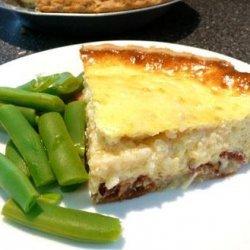 Easy Bacon and Cheese Quiche recipe