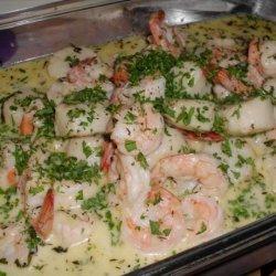 Mixed Seafood Saute recipe