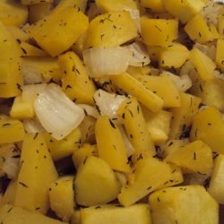 Oven Roasted Butternut Squash With Marsala recipe